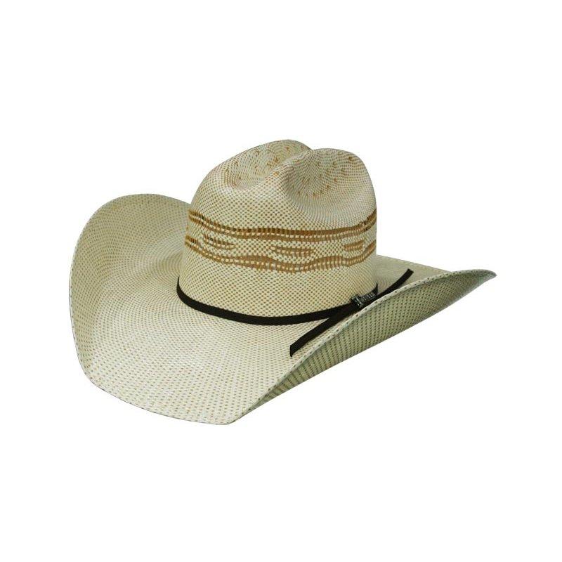 Bangora Straw Hat: Straw Hat By Twister Bangora Buckhorn, 59,00