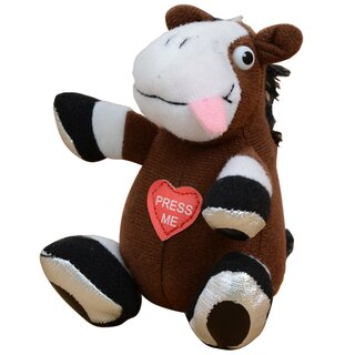Key chain Toy Horse with sound