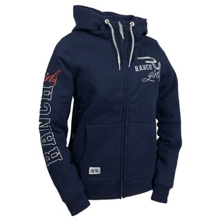 OSWSA Ranchgirls Hoodie Jacket Hannah eclipse blue