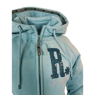Hooded Jacket Ranchgirls Shiny tourmaline