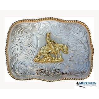Buckle by Montana Silversmiths Reiner