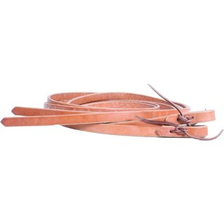 Reins harness leather with thick ends