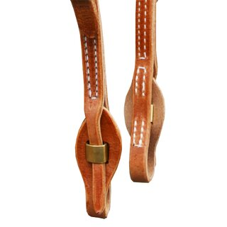 One ear headstall harness leather with Quick Change