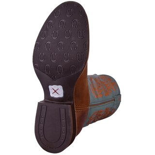 Cowboystiefel Twisted X Womens Horseman Sky Blue