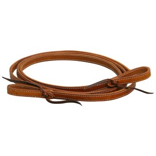 Closed Leather Reins double stitched
