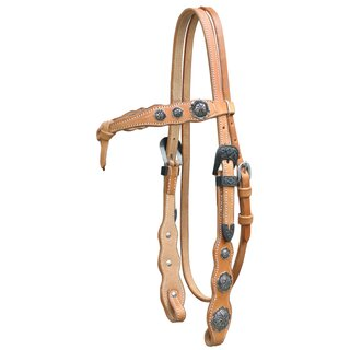 Headstall harness with conchas