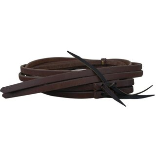 Reins harness leather dark oiled