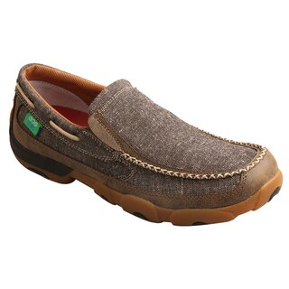 MoccasinsTwisted X  ECO TWX Mens Slip-on driving moccasins