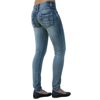 Jeans Sarina hell Skinny von Rubberband