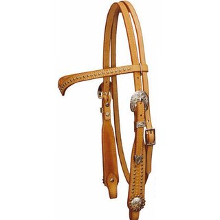 Show Headstall with Points
