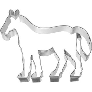 Cookie cutter standing horse