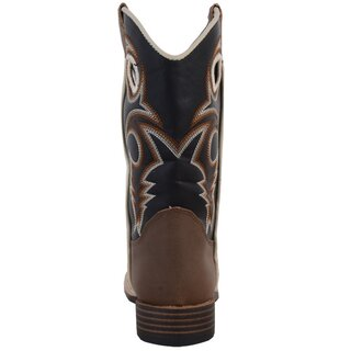 Western Boot for Kids brown size 29 to 35