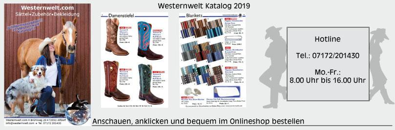 Westernwelt Westernreiten Western Katalog